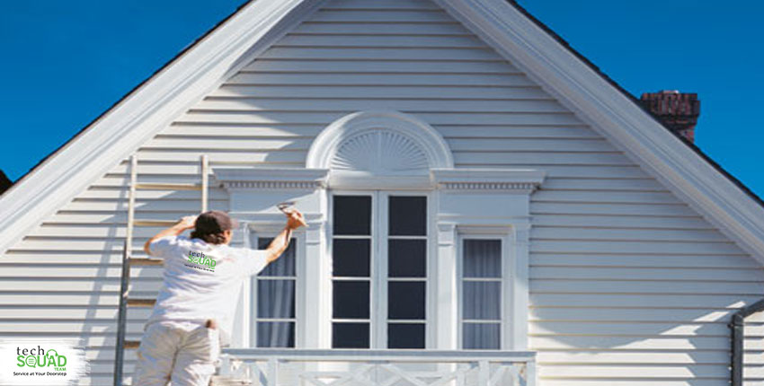 How to protect your house exterior paint?