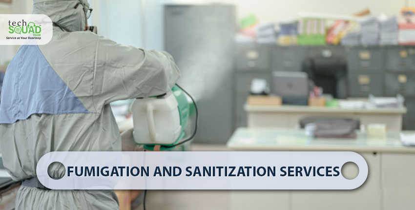 Maintain Hygiene with Best Fumigation and Sanitization Services