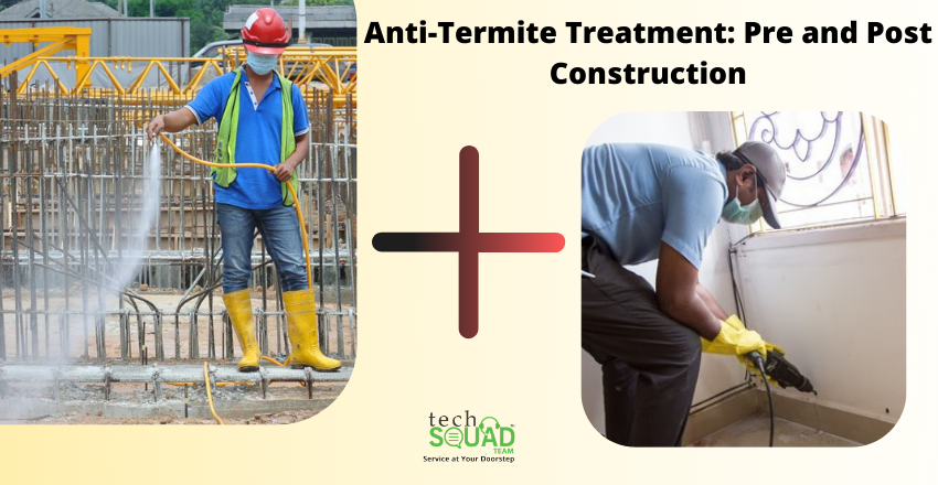 Anti-Termite Treatment: Pre and Post Construction