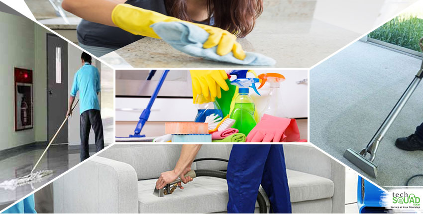 What are the ways to cut your cleaning time in half?