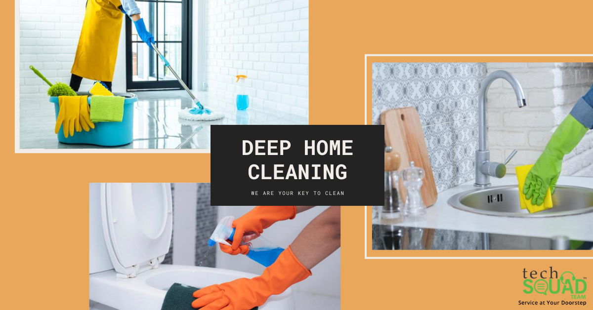Why Deep Home Cleaning is Important?