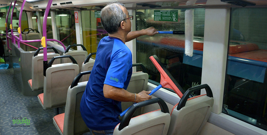 A few hints on getting your bus clean by professionals