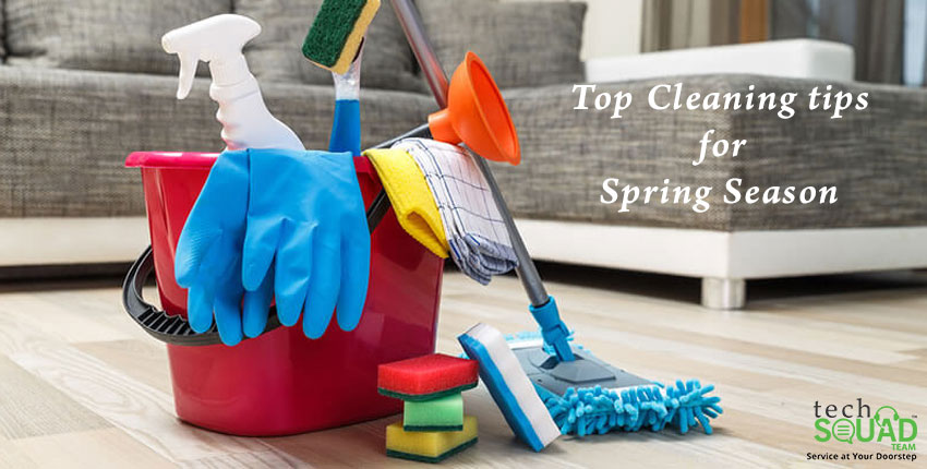 Tips to Clean your Home during Spring Season