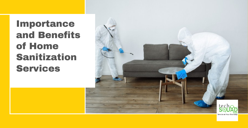 Importance and Benefits of Home Sanitization Services