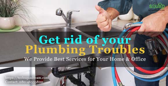 One stop solution for all type of plumbing issues