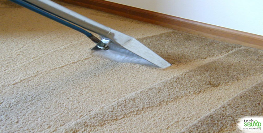 How can dirty carpets open you up to liability concerns?