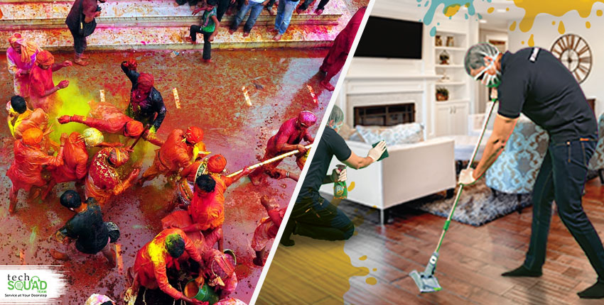 How to keep your home clean from colors this Holi