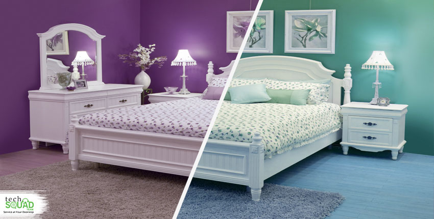 Which Paint Color Is The Best For A Bedroom – Blue or Green?