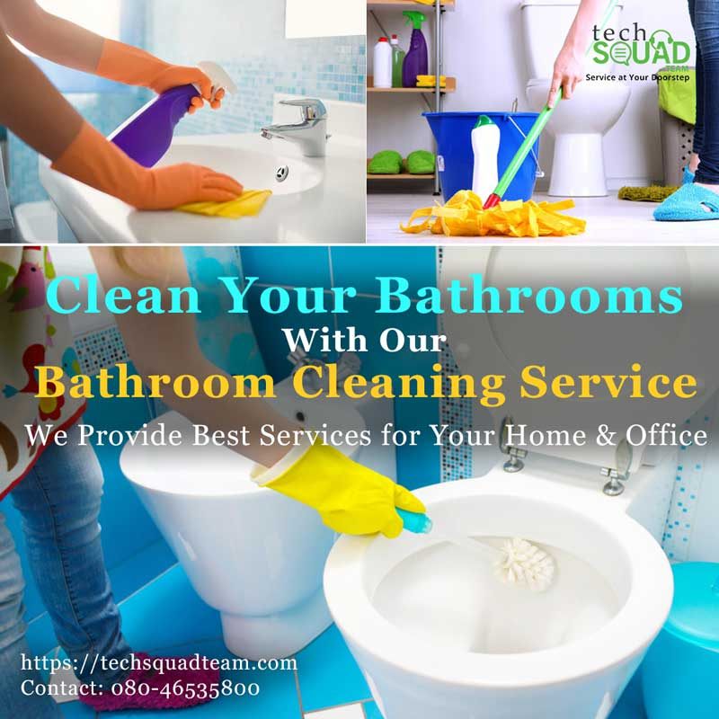 Professional guidelines and Quick tips to clean bathroom
