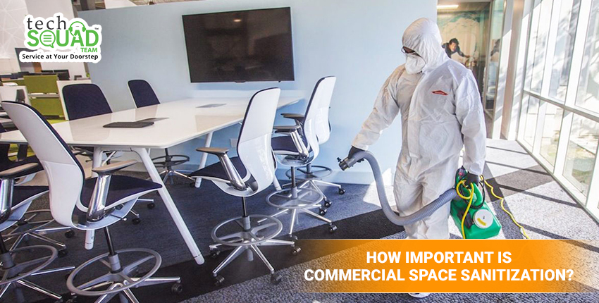 How Important is Commercial Space Sanitization?
