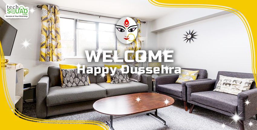 Dussehra Diaries: Welcome your Guests with a Sparkling Clean Home