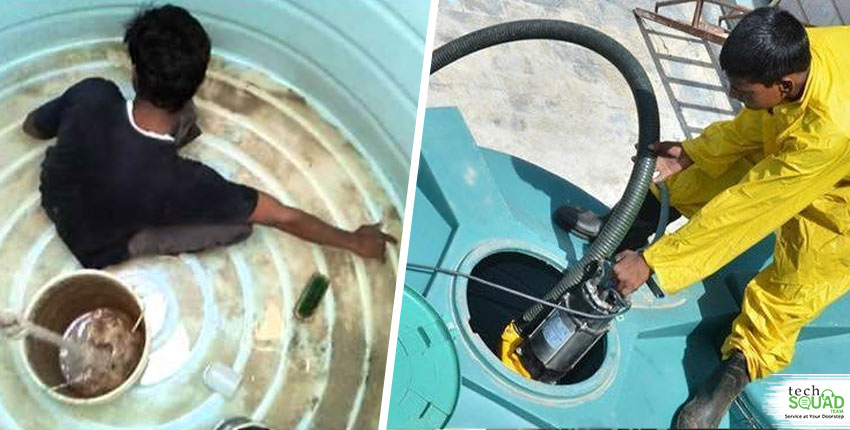 Water Tank Cleaning Services Vs Doing It Yourself