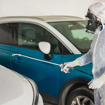 Vehicle Fumigation & Sanitization Services