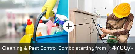 Cleaning & Pest Control Combo Service