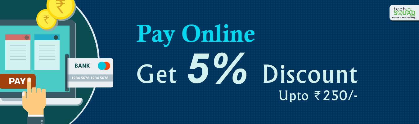 Cashback on Online Payment